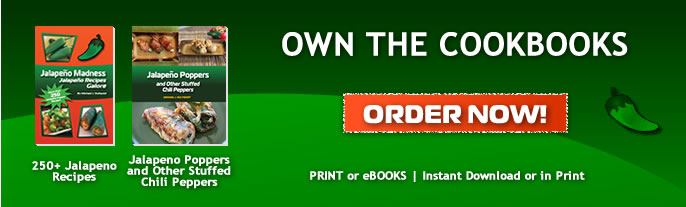 Own the Jalapeno Madness Cookbook Now!
