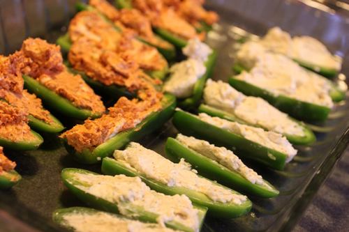 Jalapeno Poppers Prepared Boat Style