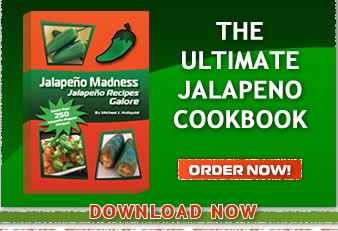 Own the Jalapeno Madness Cookbook Now! Jalapeno pepper recipes