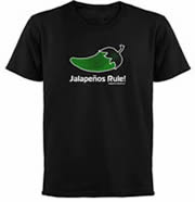 Jalapeno TShirt and Other Gear