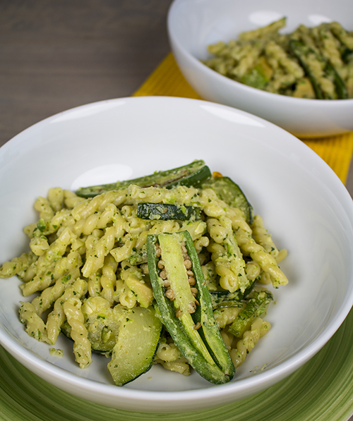 Jalapeno-Zucchini-Pesto Pasta Recipe