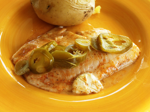 Creole Rubbed Tilapia Recipes with Jalapeno Peppers