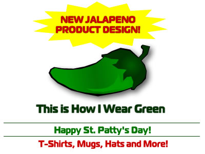 Jalapeno Pepper Designs through Cafepress.com